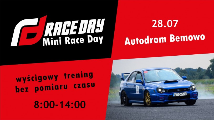 Race Day MINI (28.07.2019)