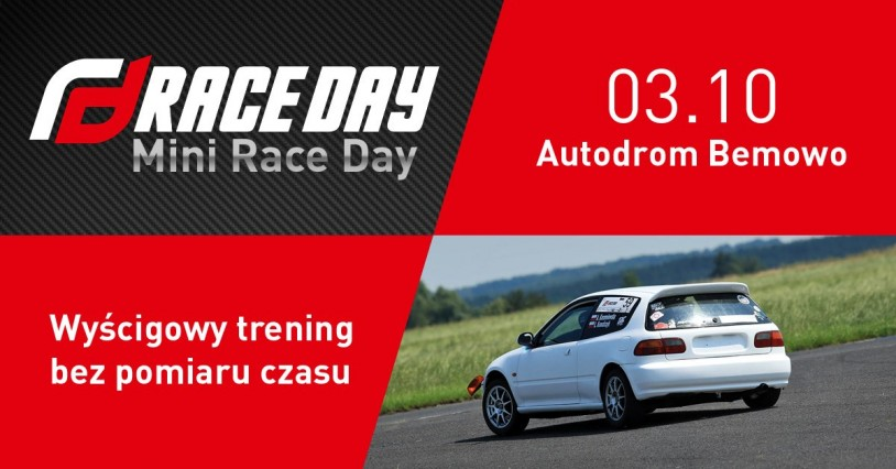 4 Mini Race Day - trening 2021 (03.10.2021)